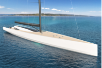 Sailing superyacht concept with zero carbon emissions 'appeals to young'