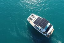 Solar yacht capable of limitless sailing with zero emissions
