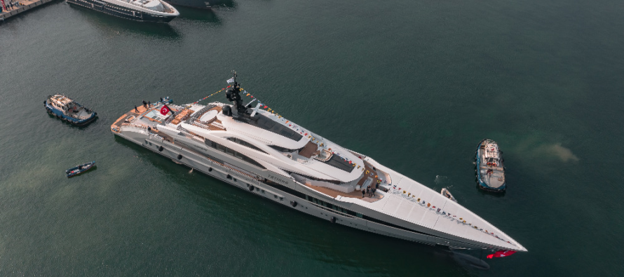 Bilgin launches Turkey's largest and greenest yacht to date