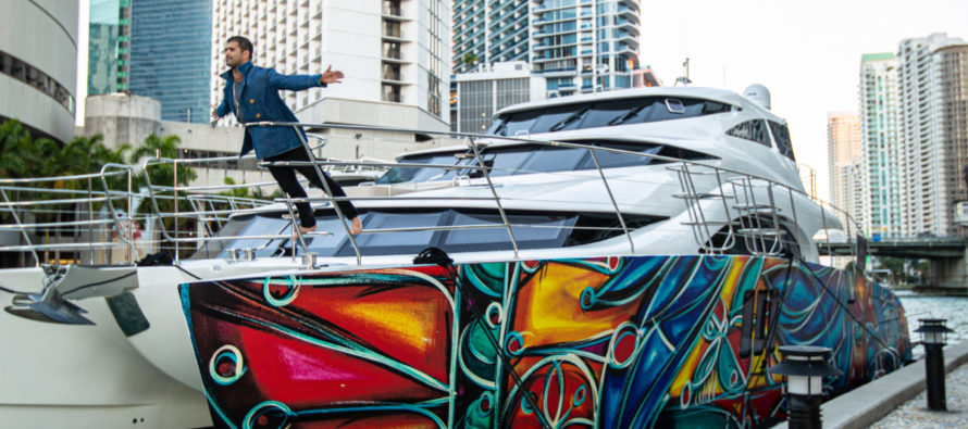 Sunreef Yachts' new partnership: Own a floating installation