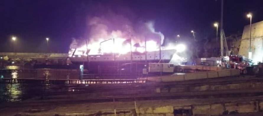 Fire in the hold! Superyacht blazes, their causes and preventions