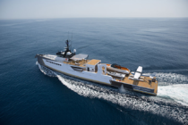 Damen launches 55-metre yacht-support vessel Blue Ocean