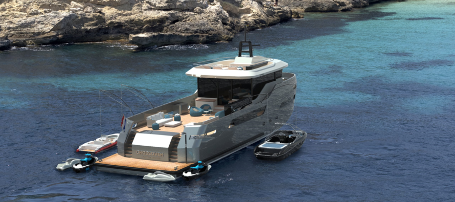 Pocket superyacht CROSSOVER 27 aims to solve 'an industry wide problem'