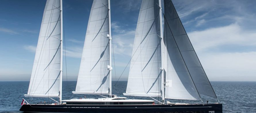Royal Huisman flagship nears delivery following sea trial completion