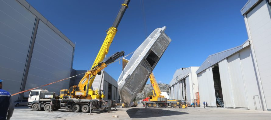 Alia Yachts's new construction facility 'speeds work and cuts costs'
