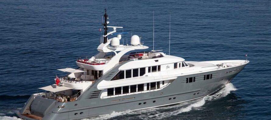 Superyacht Lady MM catches fire off Sardinian coast