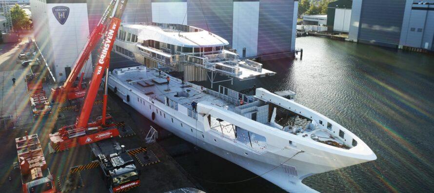 Heesen's biggest ever steel displacement yacht due in 2021