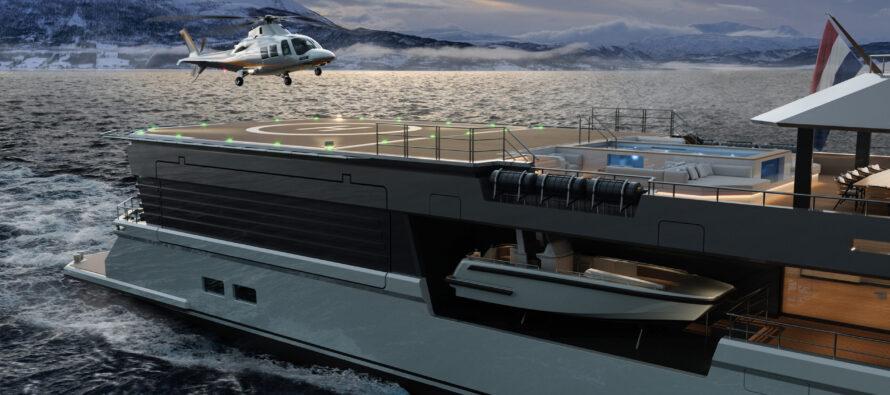 Damen introduces new look SeaXplorer 77
