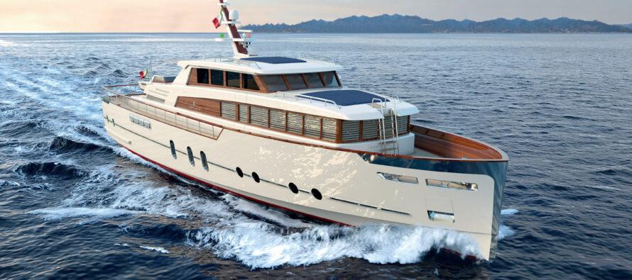 Cantieri reveals 24m Gentleman's Yacht