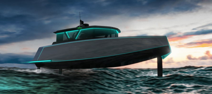 Navier's America's Cup inspired debut design